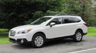 2015 Subaru Outback 2.5i, test drive, Catskill Mountains, NY, July 2014
