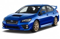 2015 Subaru WRX STI 4-door Sedan Angular Front Exterior View