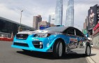 2015 Subaru WRX STI Global Rallycross Car Previewed At 2014 NY Auto Show