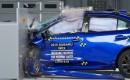 2015 Subaru WRX IIHS crash test