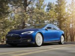 2015 Tesla Model S 70D in new Ocean Blue color