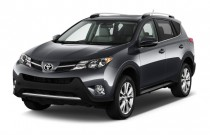 2015 Toyota RAV4 FWD 4-door Limited (Natl) Angular Front Exterior View