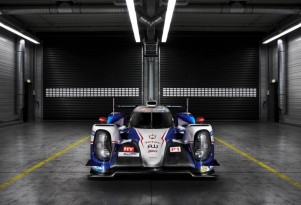 2015 Toyota TS040 Hybrid LMP1 race car
