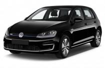 2015 Volkswagen e-Golf 4-door HB SEL Premium Angular Front Exterior View