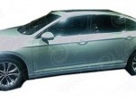 2015 Volkswagen Passat (Chinese-spec) leaked (Image via Car News China)