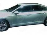 2015 Volkswagen Passat (Chinese-spec) leaked (Image via Car News China)