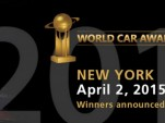 2015 World Car of the Year awards