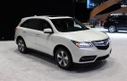 2016 Acura MDX Gets Nine-Speed Auto, Available Electronic Driver Aids: Live Photos