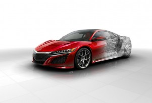 2017 Acura NSX internal view