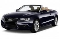 2016 Audi A5 2-door Cabriolet Auto quattro 2.0T Premium Plus Angular Front Exterior View