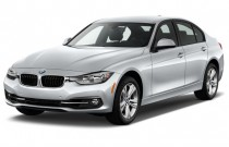 2016 BMW 3-Series 4-door Sedan 328i RWD Angular Front Exterior View