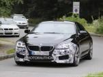 2016 BMW M6 facelift spy shots