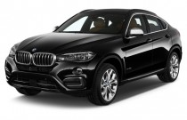 2016 BMW X6 AWD 4-door xDrive50i Angular Front Exterior View