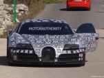 2016 Bugatti Chiron spy shots