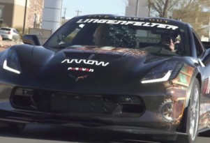 Quadriplegic Sam Schmidt's Chevrolet Corvette Z06