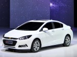 2016 Chevrolet Cruze Sedan Unveiled At Beijing Auto Show