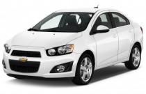 2016 Chevrolet Sonic 4-door Sedan Auto LTZ Angular Front Exterior View