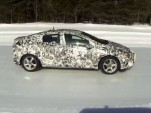 2016 Chevrolet Volt testing on snow surface [screen capture from teaser video]
