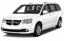 2016 Dodge Grand Caravan 4-door Wagon SXT Plus Angular Front Exterior View
