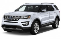2016 Ford Explorer 4WD 4-door Limited Angular Front Exterior View