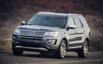 2016 Explorer Platinum Elevates Ford Badge, Takes Aim At Denali