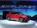 2016 Ford Explorer  -  2014 Los Angeles Auto Show live photos
