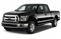 "2016 Ford F-150 2WD SuperCab 145"" XLT Angular Front Exterior View"