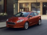 Some 2015-2016 Ford Focus Electrics recalled for pinion-shaft problem