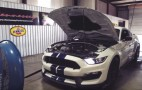 2016 Ford Mustang Shelby GT350 Gets Strapped To Hennessey's Dyno: Video