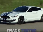 2016 Ford Mustang Shelby GT350 on track at VIR