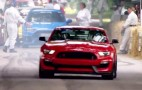 2016 Mustang Shelby GT350R And Focus RS Take On The Goodwood Hill Climb: Video