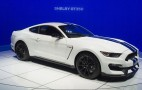 2016 Ford Mustang Shelby GT350 Packs New V-8, Serious Track Upgrades: Video & Live Photos