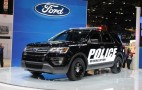 Ford's Explorer Police Interceptor Utility Gets Stealthy for 2016
