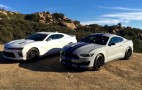 ​Ford Shelby GT350 Vs. Chevy Camaro SS: Video Throwdown