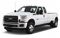"2016 Ford Super Duty F-350 DRW 4WD SuperCab 158"" XL Angular Front Exterior View"