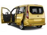 2016 Ford Transit Connect Wagon 4-door Wagon LWB Titanium w/Rear Liftgate Open Doors