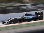 Mercedes AMG's Nico Rosberg at the 2016 Formula One Belgian Grand Prix