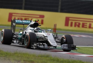 Mercedes AMG's Nico Rosberg at the 2016 Formula One Japanese Grand Prix