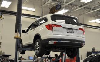 2016 Honda Pilot long-term road test: the first service stop