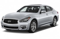 2016 Infiniti Q70 4-door Sedan V6 RWD Angular Front Exterior View