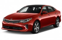 2016 Kia Optima 4-door Sedan SX Turbo Angular Front Exterior View