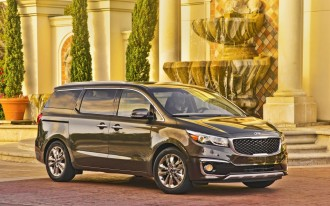 2017 Kia Sedona minivan earns Top Safety Pick+ from IIHS
