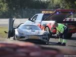 2016 Koenigsegg Agera R prototype crashed at the Nürburgring