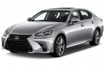 2016 Lexus GS 350 4-door Sedan RWD Angular Front Exterior View