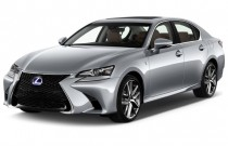 2016 Lexus GS 450h 4-door Sedan Hybrid Angular Front Exterior View