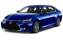 2016 Lexus GS F 4-door Sedan Angular Front Exterior View