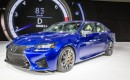 2016 Lexus GS F live photos, 2015 Detroit Auto Show