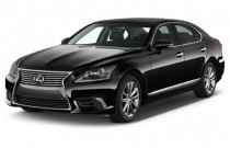 2016 Lexus LS 460 4-door Sedan RWD Angular Front Exterior View