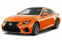 2016 Lexus RC F 2-door Coupe Angular Front Exterior View