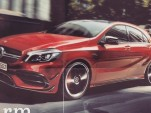 2016 Mercedes-AMG A45 S leaked